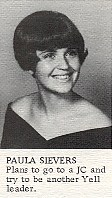 Paula Sievers  Class of '70